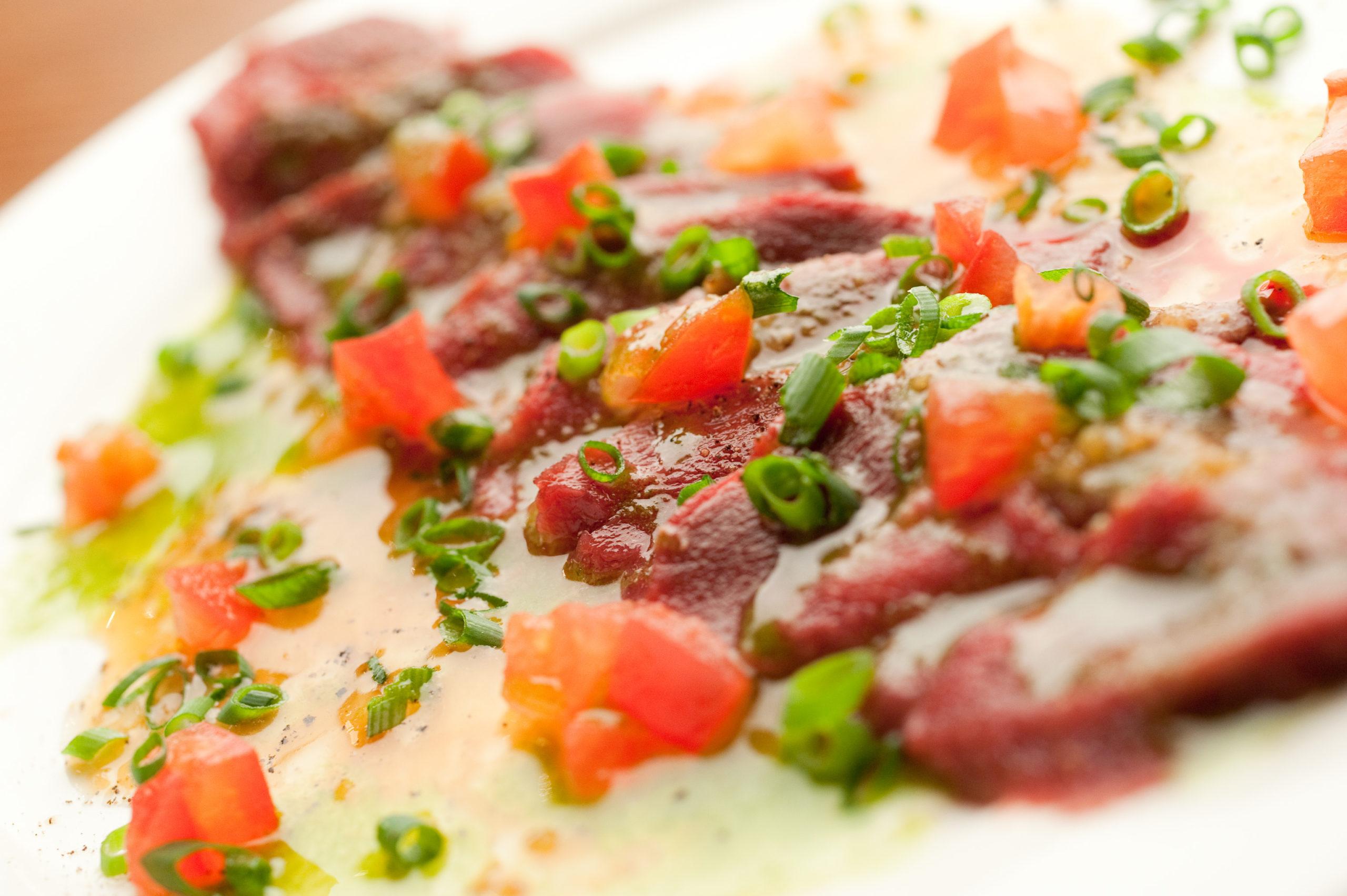 【要予約】馬肉のカルパッチョ
